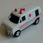 corgi 1:43 critical care unit ambulance ford van unusual diecast model @SOLD@